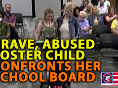 🎥 BRAVE FOSTER CHILD TAKES ON HER OWN SCHOOL BOARD - INCREDIBLE!
