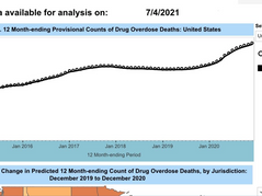 CRIMINAL! US Drug-Overdose Deaths Soared to a Record 93,000 in 2020 During Covid Lockdowns