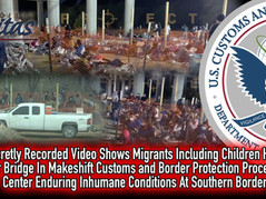 🎥 BODIES UNDER BRIDGES: Secretly Recorded Video Shows Makeshift Migrant Shelter Under a Bridge!!