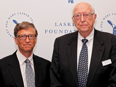 Bill Gates' father inspired his views on population control, he reveals in an interview