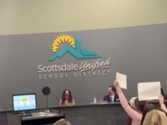 """📺 """"COWARDS! New Board! New Board!"""" – EPIC!: Scottsdale School Board Shouted Out of Building"""