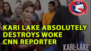 🎥 Kari Lake Absolutely Destroys Woke CNN Reporter