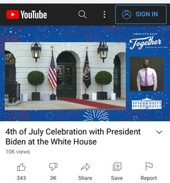 😂 The Most Popular President in History: Biden's 4th of July Speech Gets 10,000 Views on YouTube