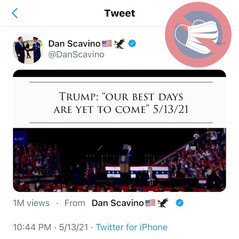 📺 TRUMP: OUR BEST DAYS ARE YET TO COME NEW SCAVINO TWEET