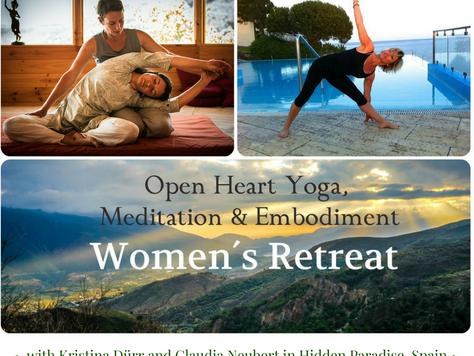 Open Heart Yoga, Meditation & Embodiment ~ Retreat for Women
