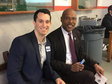 Then Rep. Jared Mead with seatmate Rep. John Lovick