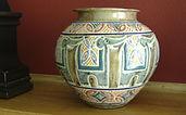 Cathra-Anne's Three Ring Circus Vase