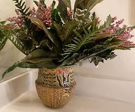 Cathra-Anne's Spring Basket Vase