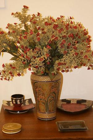 Dew Drop Vase by Cathra-Anne