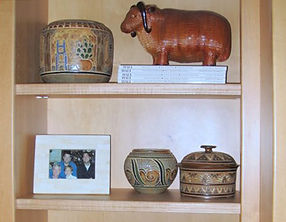 Cathra-Anne's work in Mike and Sally's Texas home