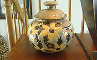 Cathra-Anne's Sunflower Jar