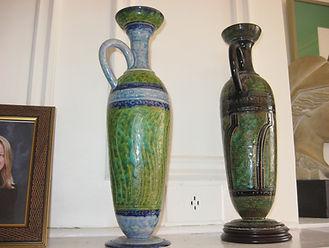 Lekythos duo in situ