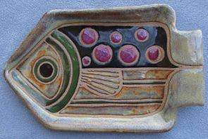 Fish Tray by Cathra-Anne Barker from 1991