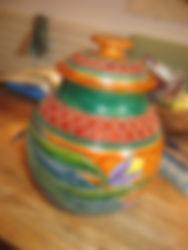 Tulips Jar