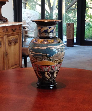 Vase commissioned by the Davises