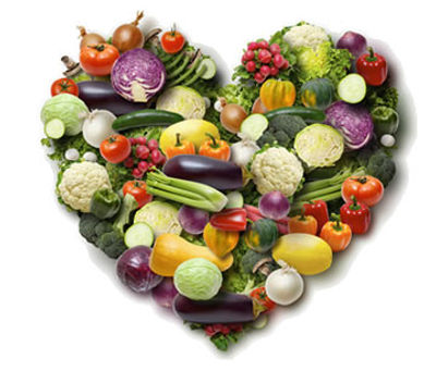 love vegetables healthy heart nutrition holistic organic