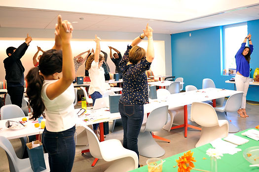 Yoga at work, Corporate Wellness, The Longevity Project