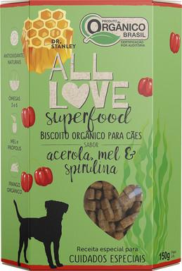 All Love - Superfood | Acerola, Mel & Spirulina150g
