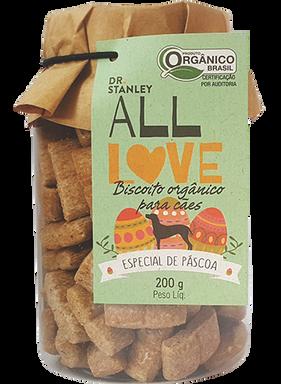 All Love - Biscoito Orgânico para Cães Edição de Páscoa 200g