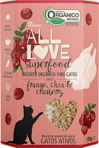 All Love - Superfood | Frango, Chia & Cranberry 150g