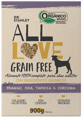All Love -Grain Free | Frango, Chia, Tapioca & Cúrcuma 900g