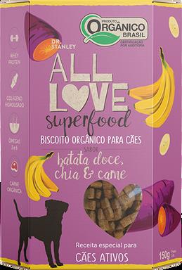 All Love - Superfood | Batata Doce, Chia & Carne 150g