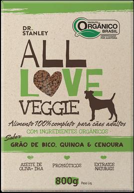 All Love - Veggie | Grão de Bico, Quinoa & Cenoura 800g