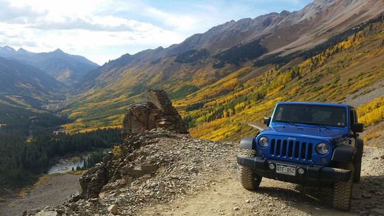Fall colors in Telluride, our favorite!