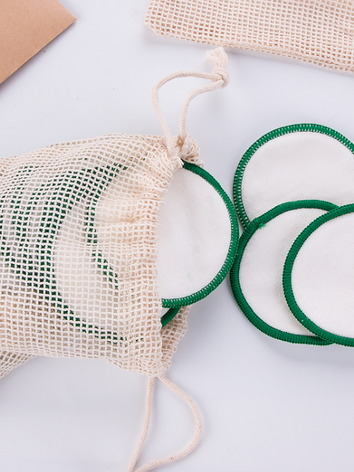 Bamboo/cotton make up remover pads