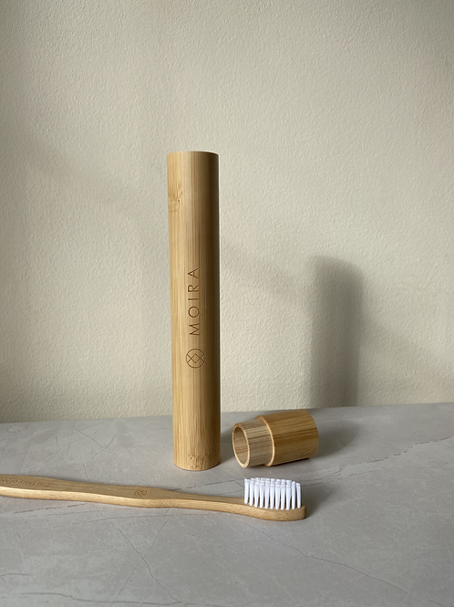Bamboo Toothbrush & Travel case