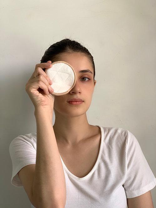 Reusable Bamboo/Cotton make-up pads