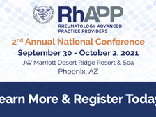 (092101) RhAPP 2nd Annual Conference
