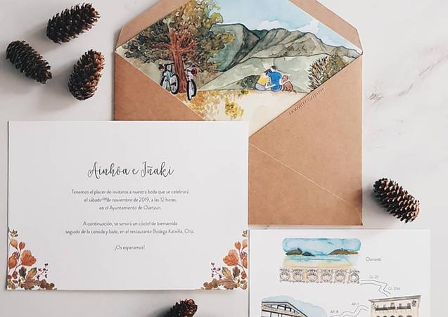 Invitaciones boda personalizadas_Madrid.