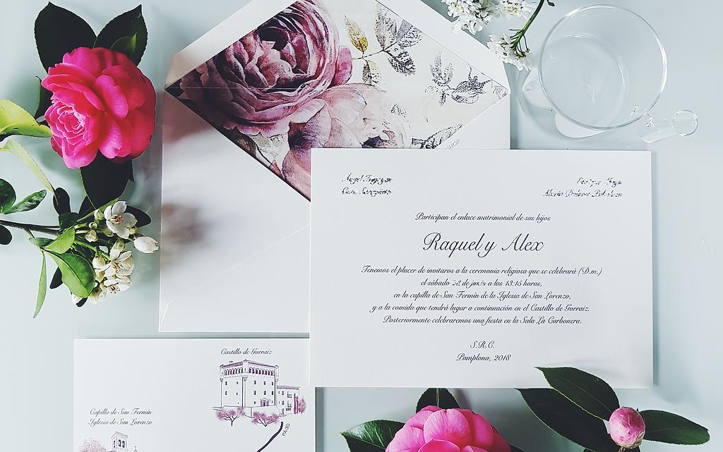 Invitaciones de boda LA INVITACION SHOP Espaa