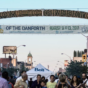 Toronto's Largest Street Festival: Taste of The Danforth