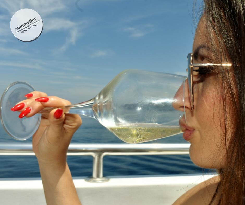 enoboat 2018 elba maggio  ais champagne e mare katia beve
