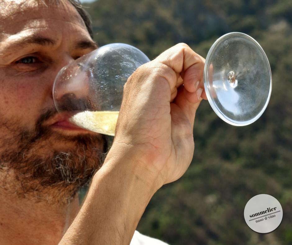 enoboat 2018 elba maggio  ais champagne e mare beve michele primo piano