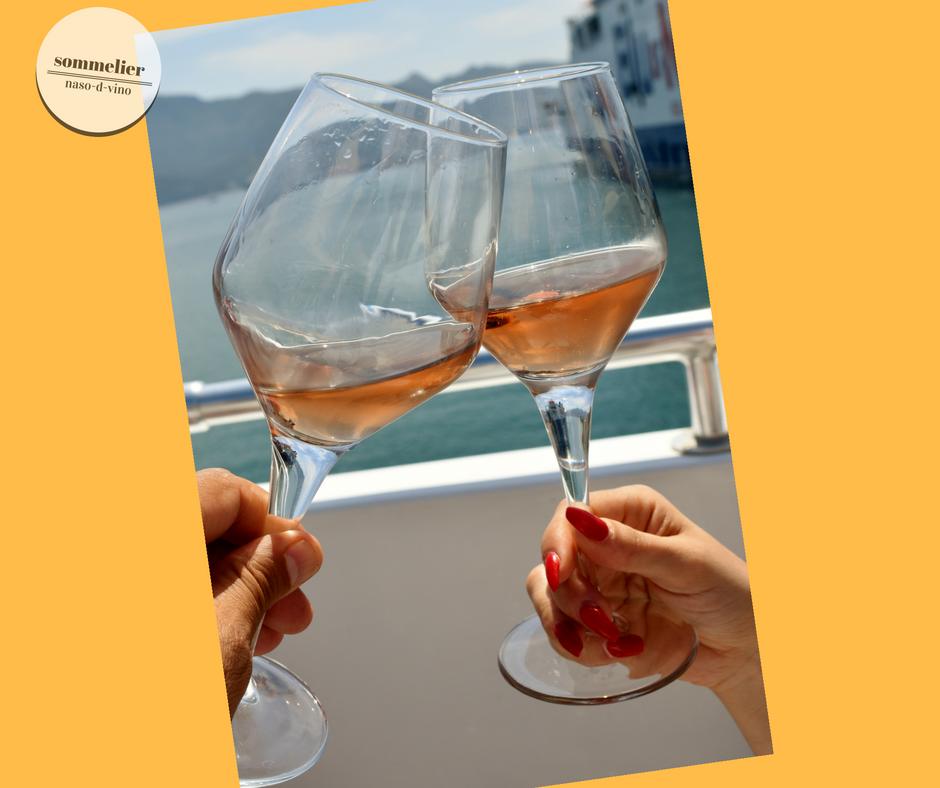 enoboat 2018 elba maggio  ais champagne e mare calici