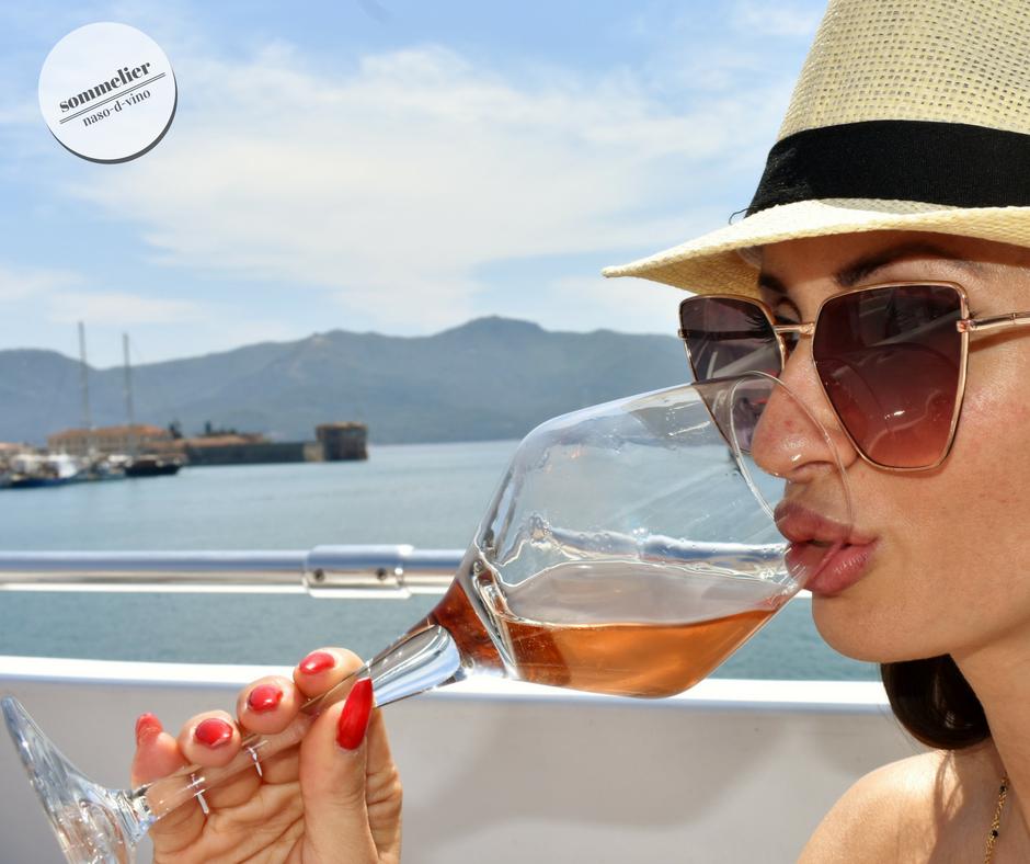 enoboat 2018 elba maggio  ais champagne e mare beve katia champagne rosè
