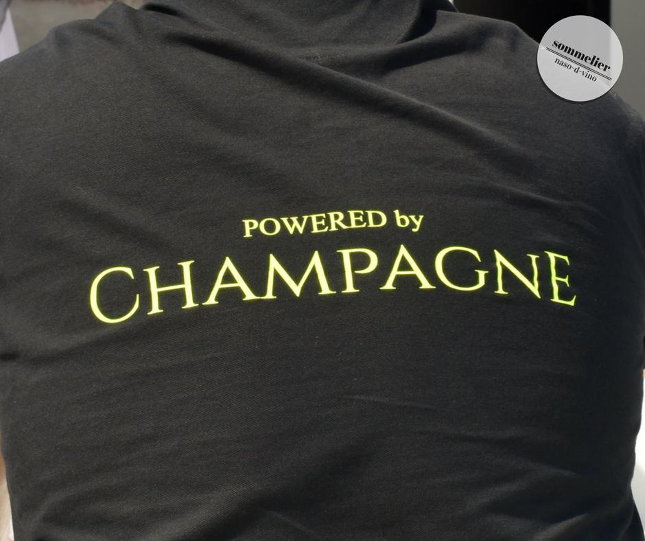 enoboat 2018 elba maggio  ais champagne e mare maglia schiena champagne