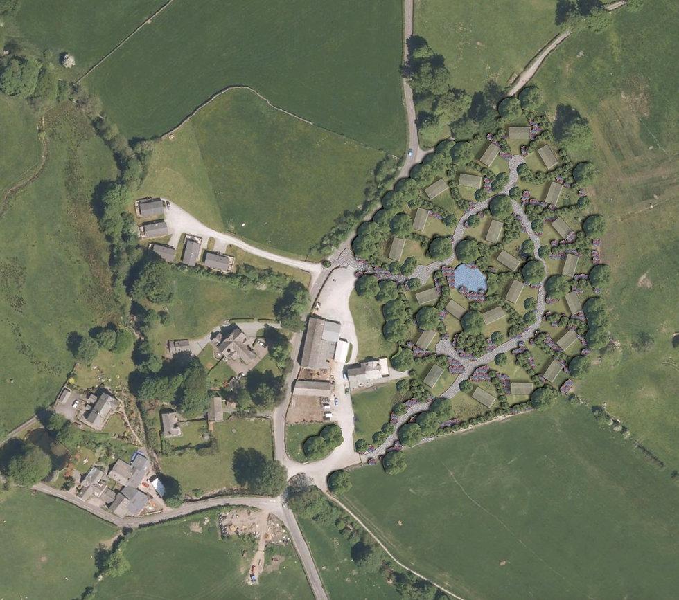 Private Farm estate Masterplan Lake Dist