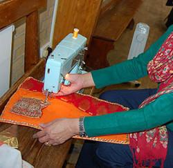 creating fabric book