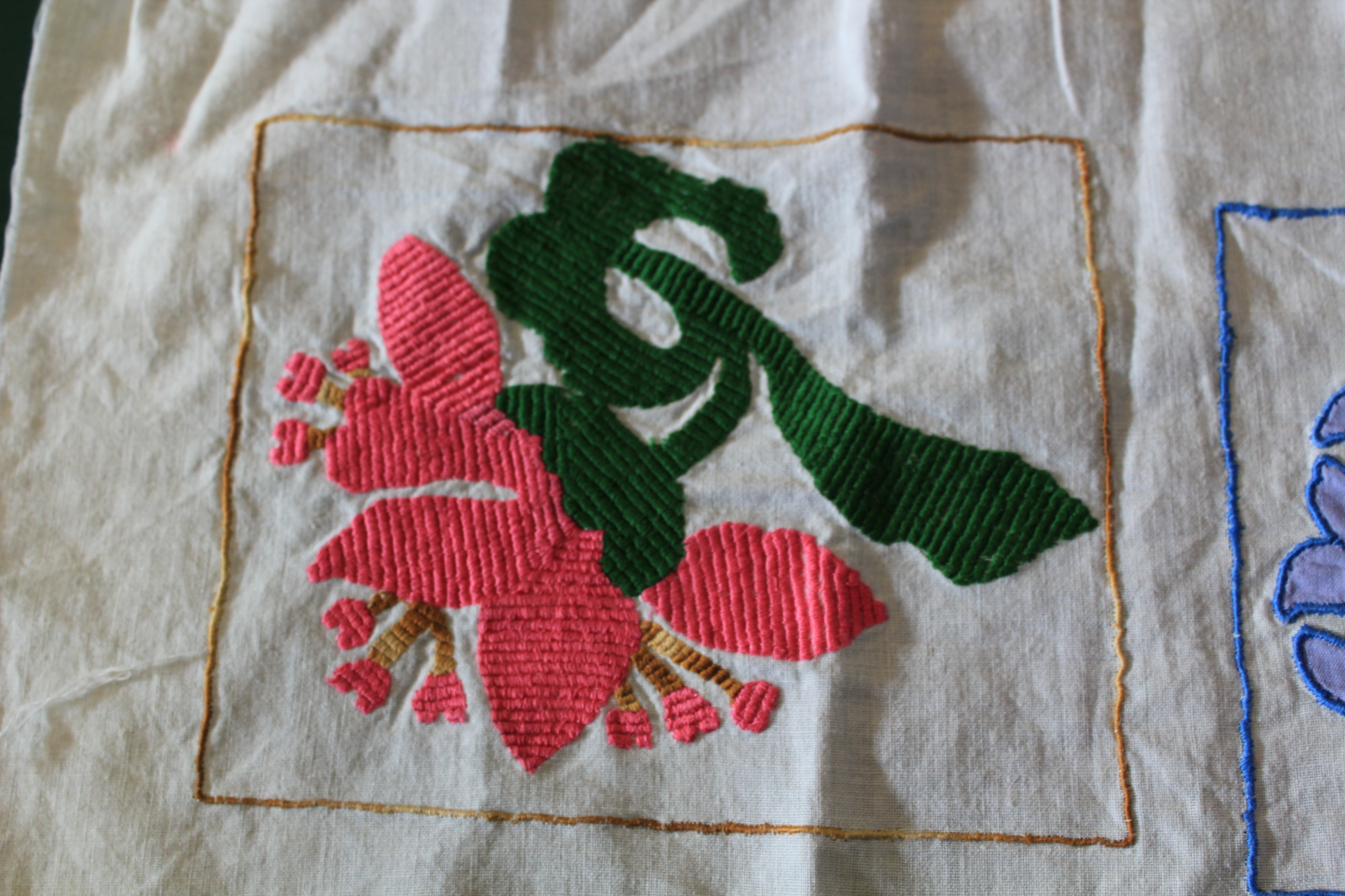 embroidery work