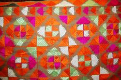 sharing needlework skills