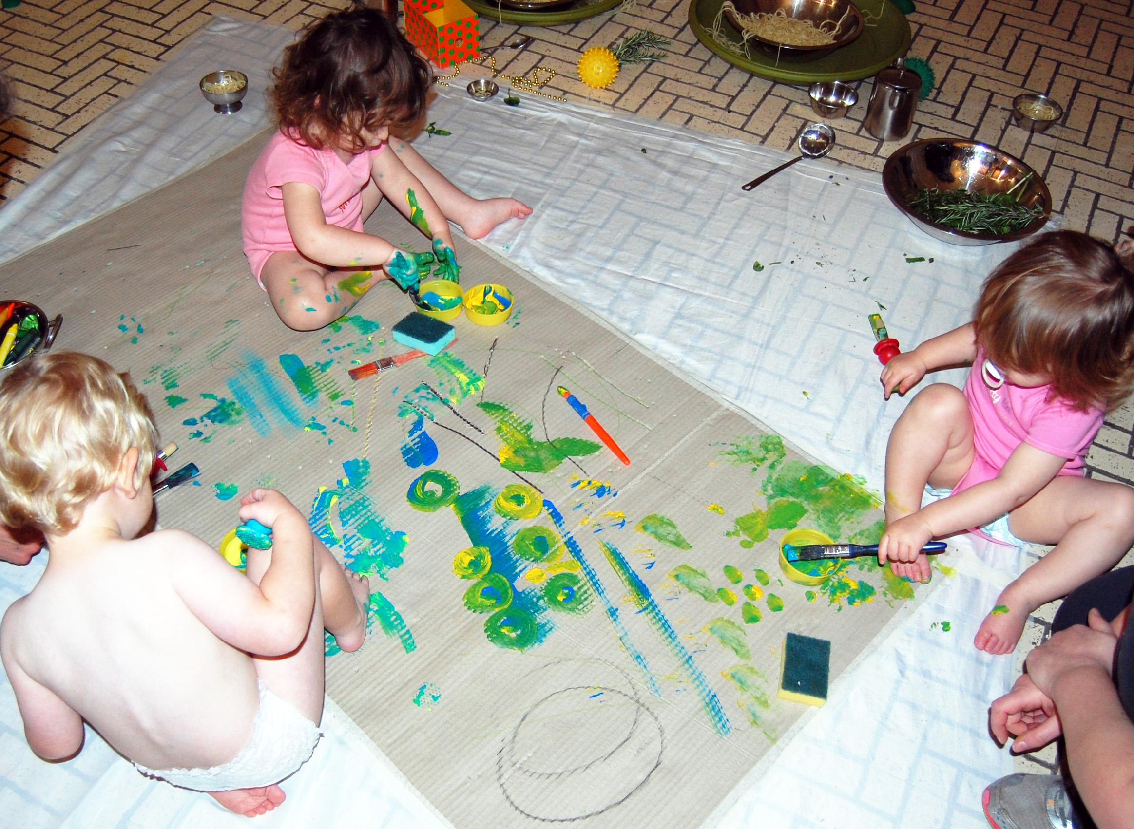 exploring paint