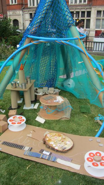 Den-making, Playday, Leicester
