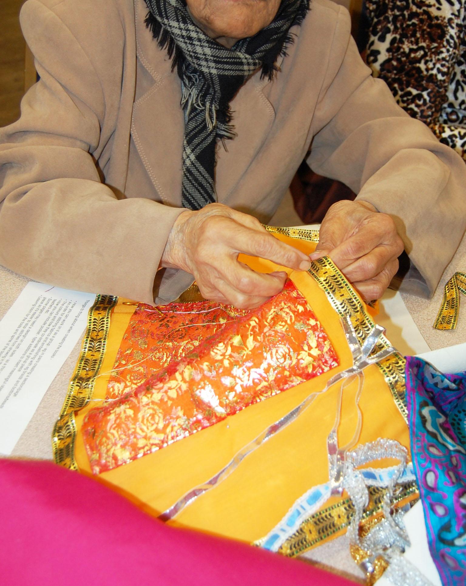 making fabric book