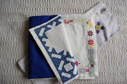 fabric book embroidery