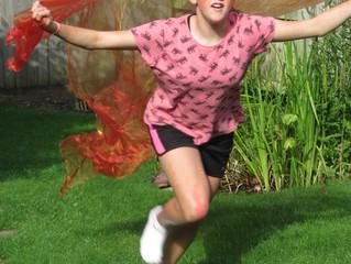 Let's Dance…roll, run, jump, be outside