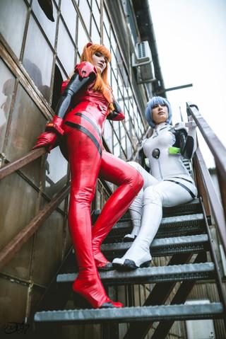 Rinaca & Surine: NGE Asuka and Rei